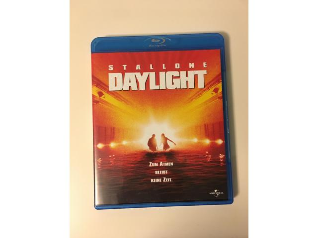 Daylight Bluray mit Silvester Stalone