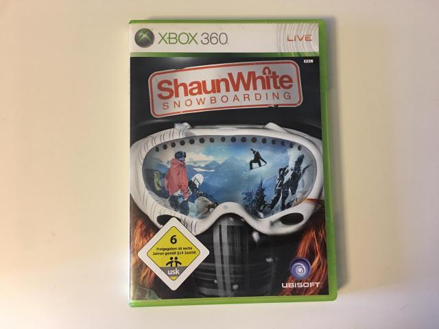 Xbox 360 Spiel Shaun White Snowboarding