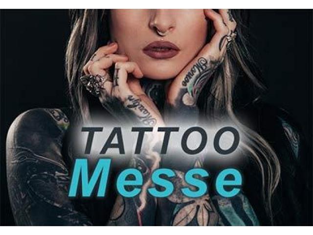Tattoomesse Carl-Benz-Arena Stuttgart Oktober 2017