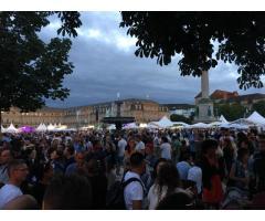Stadtfest: Sommerfest Stuttgart spontan