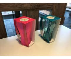 Tausche Mc Donalds Coca Cola Glas in Neon Pink