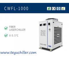 Industrieller Umlaufkühler für 1KW-Faserlaserschneidanlagen